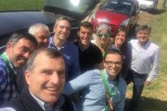 6. Selfie de despedida en GENVCE 18
